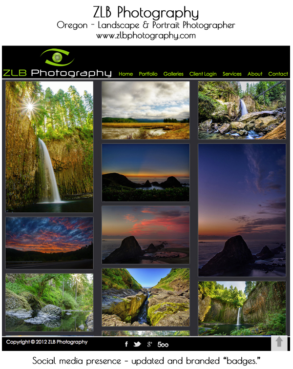 smugmug wordpress customization ZLB photography 8 Steps to Improve Your Photography Website
