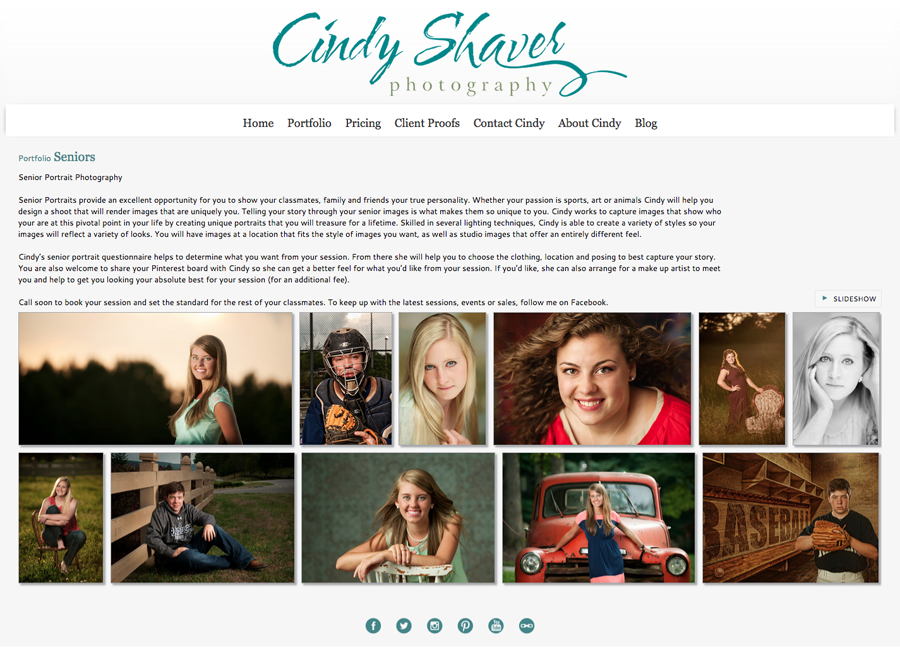 """I work with local boutiques shooting their clothes for social media, magazines and billboards and my seniors are the models.    The boutiques get great images and my seniors love the experience and seeing their images on billboards around town.""- Cindy Shaver Photography (http://cindyshaverphotography.smugmug.com/)"