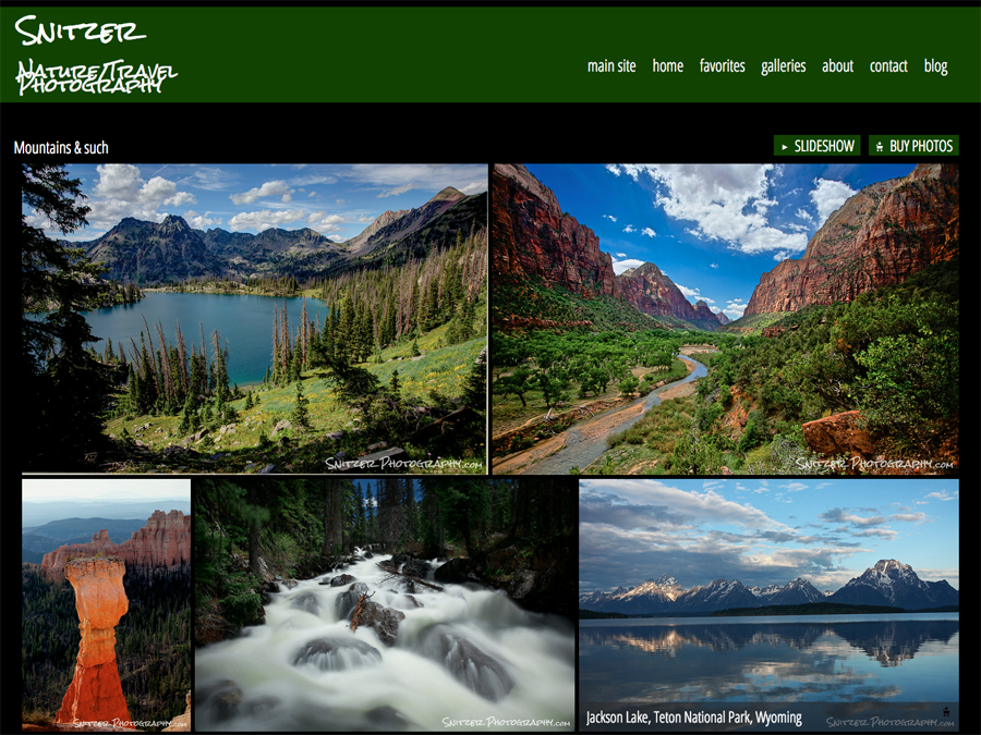 SmugMug-Customization-Snitzer-Photography-Nature-Mountains-jr-Customiztion