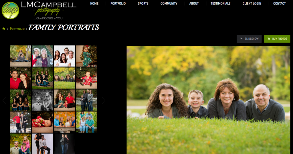 LMCampbell Photography jR Customization - New SmugMug Customization Sports Photographer
