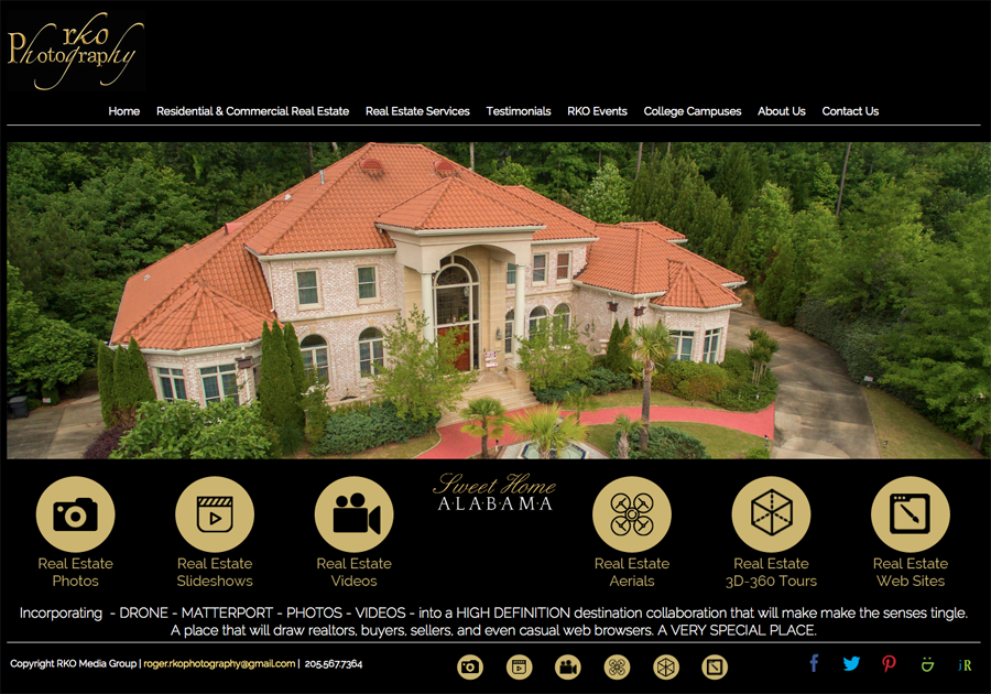 Real Estate Photography and Web Design