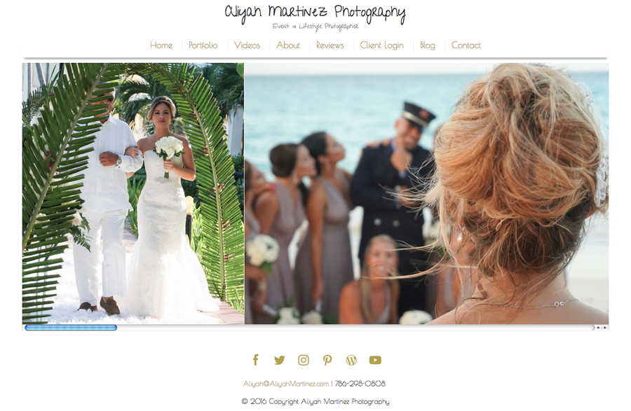 Aliyah Martinez Photography from Florida specializing in Wedding, Event and Portrait Photography