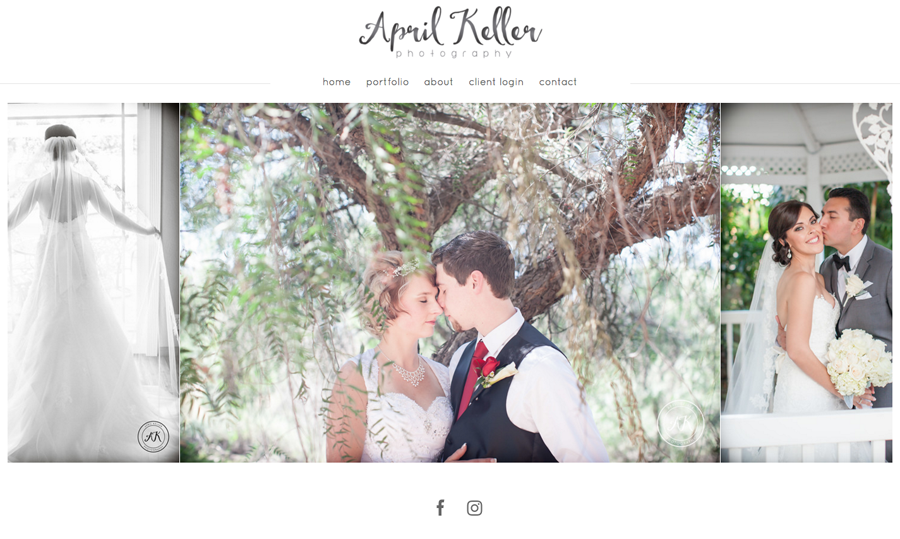 April Keller Photography from California specializing in Portrait and Wedding Photography